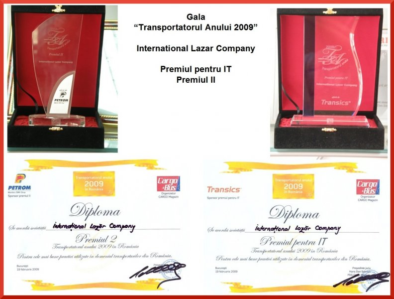 Romanian Transport Company of the Year 2009